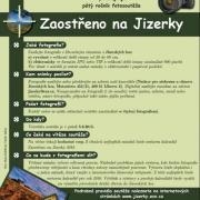 Fotosoutěž Zaostřeno na Jizerky - plakát, autor: Nadace pro záchranu a obnovu Jizerských hor