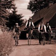 Spanilá jízda cyklostezkou Járy Cimrmana, autor: Bohumil Jakoubě - archiv Mikroregion Tanvaldsko