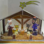Minimuzeum skleněných betlémů Železný Brod, autor: Alena Kortanová
