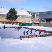 Bruslení pod širým nebem, autor: Sportpark Liberec